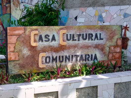 Casa cultural communitaria building in Cuba